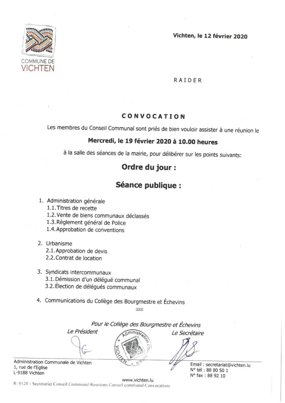 Séance CC - 2020.02.12