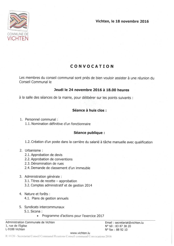 Séance CC - 2016.11.24