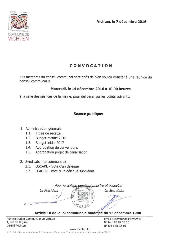 Séance CC - 2016.12.14