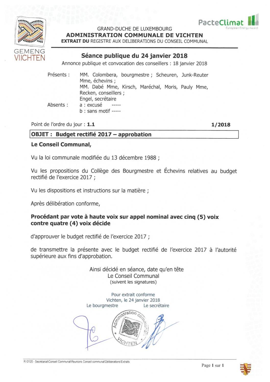 Séance CC - 2018.01.24