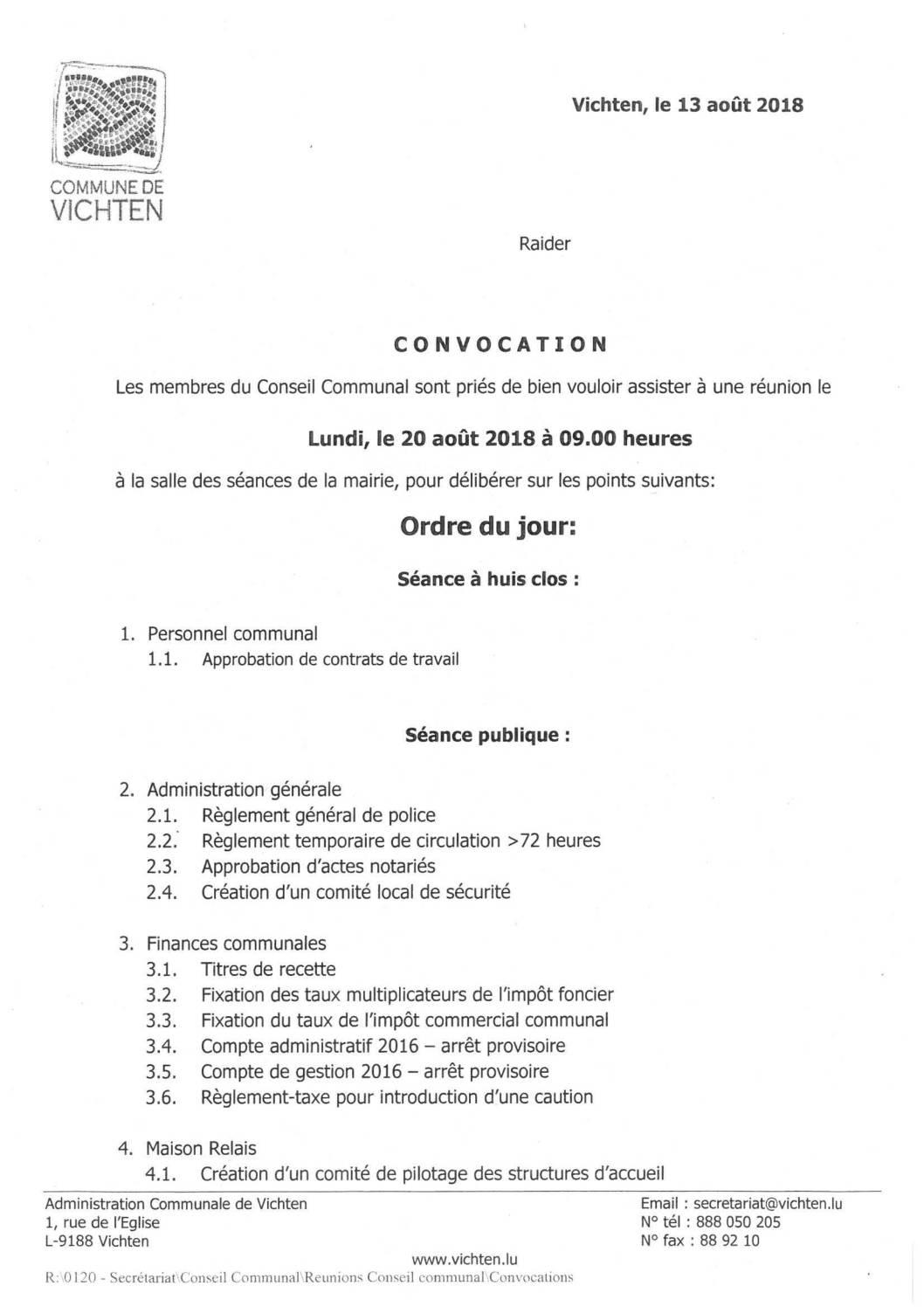 Séance CC - 2018.08.20
