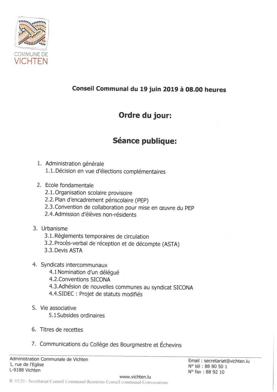 Séance CC - 2019.06.19