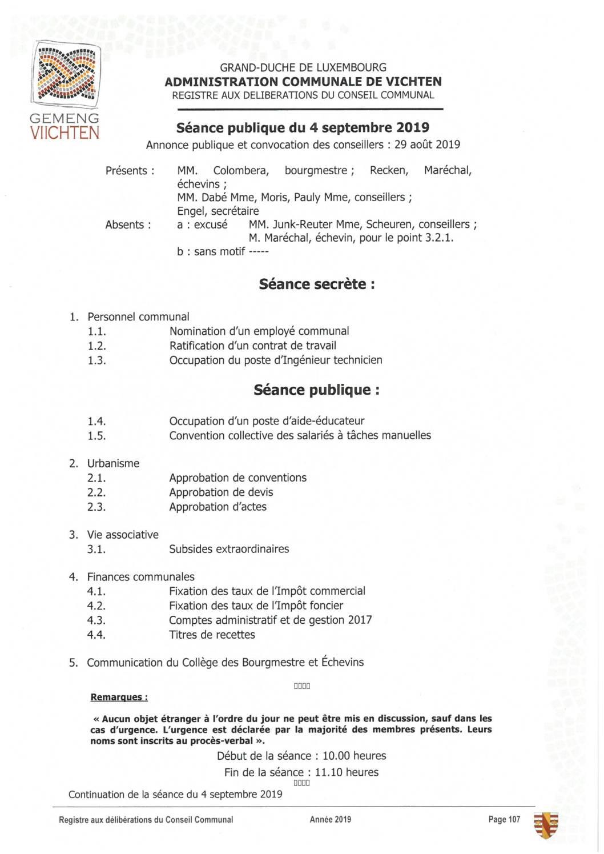Séance CC - 2019.09.04