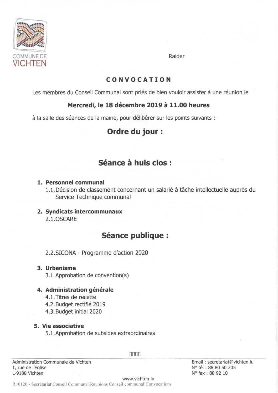 Séance CC - 2019.12.18