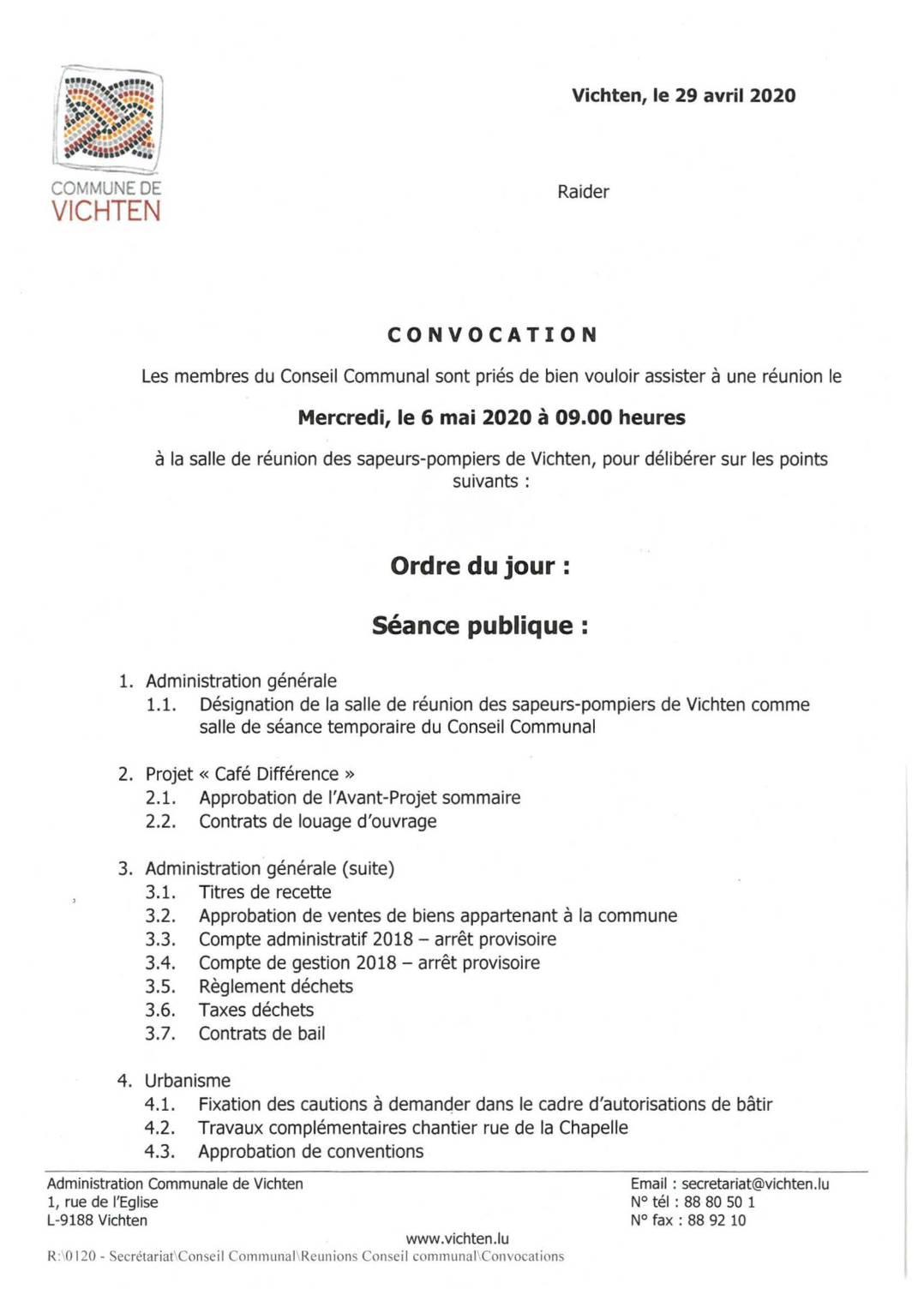 Séance CC - 2020.05.06
