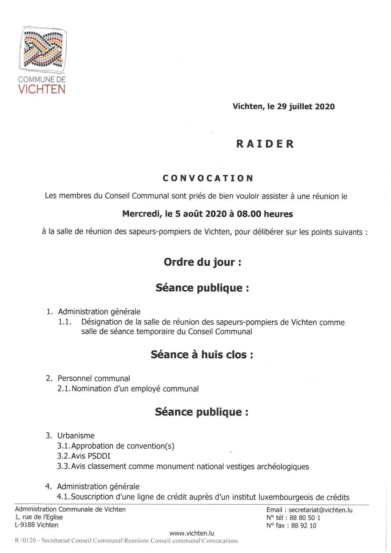 Séance CC - 2020.08.05