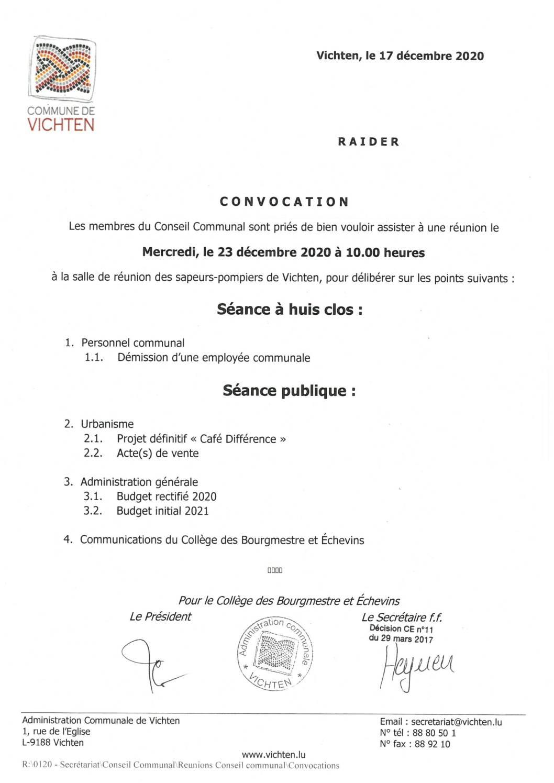 Séance CC - 2020.12.23