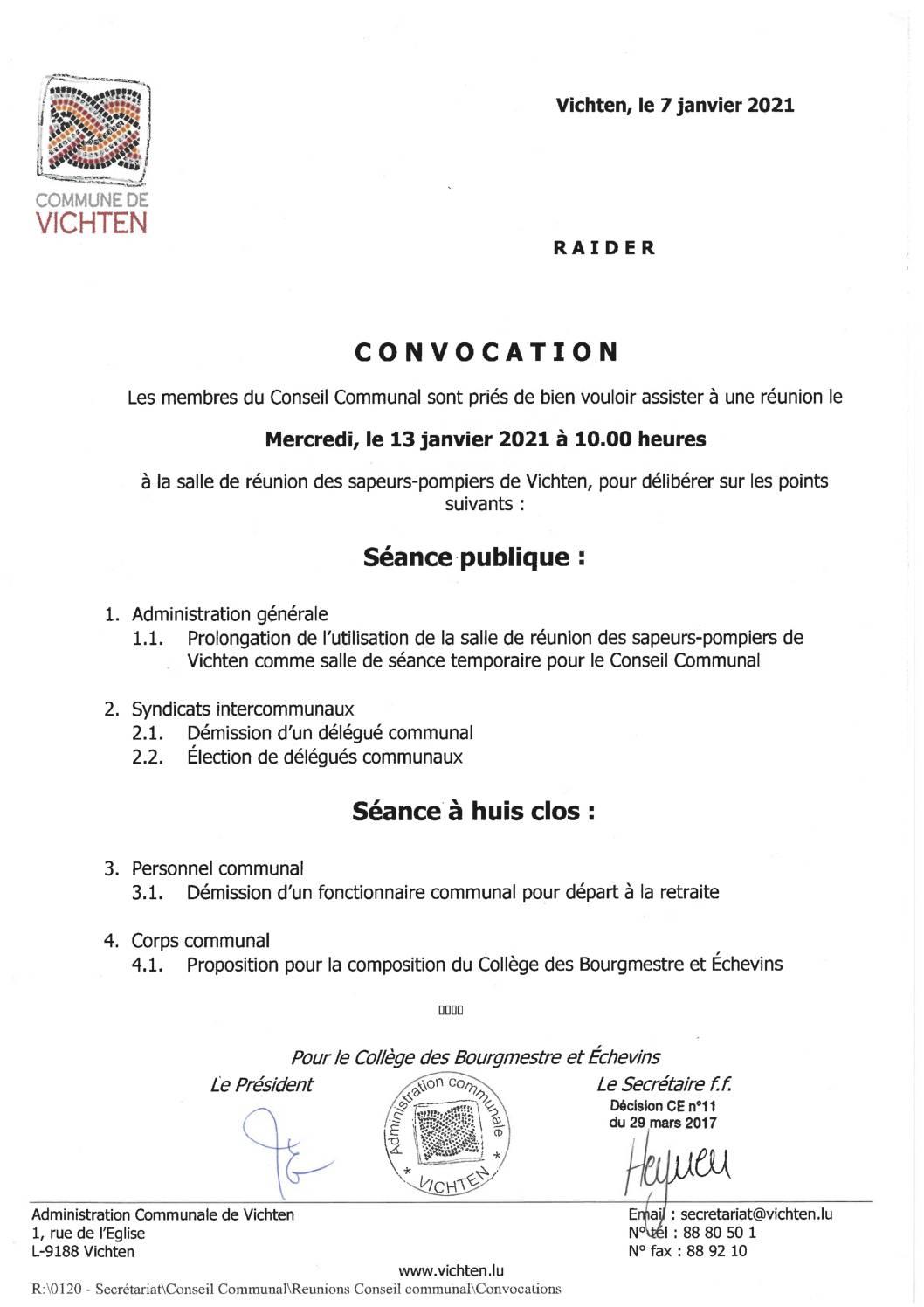 Séance CC - 2021.01.13