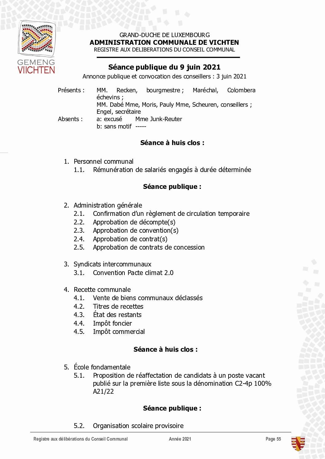 Séance CC - 2021.06.09